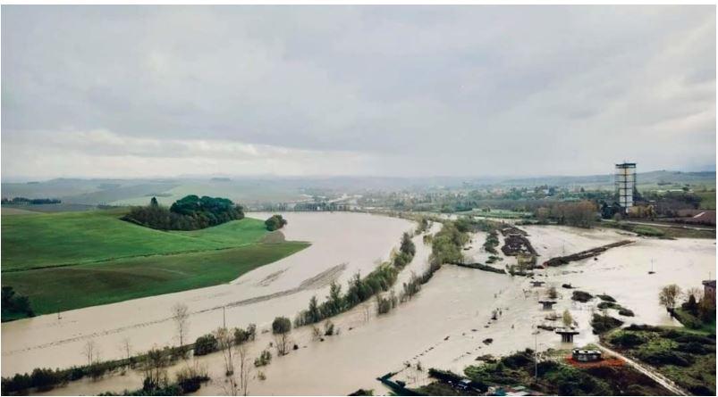 """Siena e provincia, Dati Ispra, tra Siena e provincia 15.877 persone a rischio alluvionale. Marchetti (FI): """"Intervenire prima deldanno"""""""