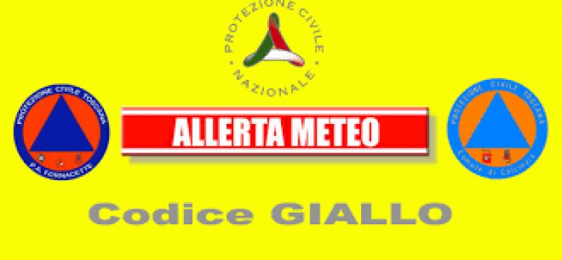 Toscana, Maltempo: Codice giallo per vento oggi, giovedì, e per temporali dalla nottata di venerdì22