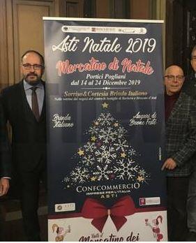 """Asti: Presentati la festa di Capodanno e gli eventi delle feste """"Asti, il Natale è nel cuore dellacittà"""""""