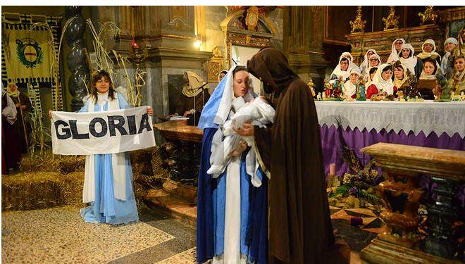 Asti: Oggi 01/12 nella Chiesa di San Martino le emozioni del presepevivente