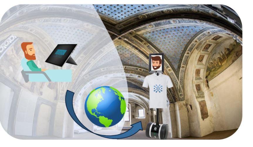 Siena: Presentazione delle visite da remoto tramite avatar teleguidato al Complesso Museale Santa Maria dellaScala
