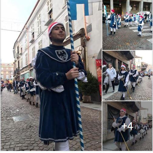 Palio di Asti, Rione Cattedrale: Alcune foto del Corteo dei Bambini del22/12