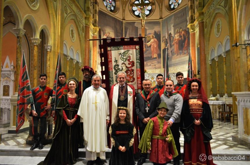 Palio di Asti, Comitato Palio Borgo San Pietro: La chiesa di San Pietro compie 90anni