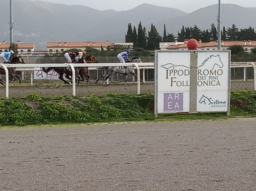 Ippica, Follonica:  Oggi 14/12 Risultati 1 Corsa vinceVittorino