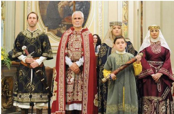 Palio di Legnano, Contrada Sant'Ambrogio: Resoconto Investitura Religiosa  di ieri07/12