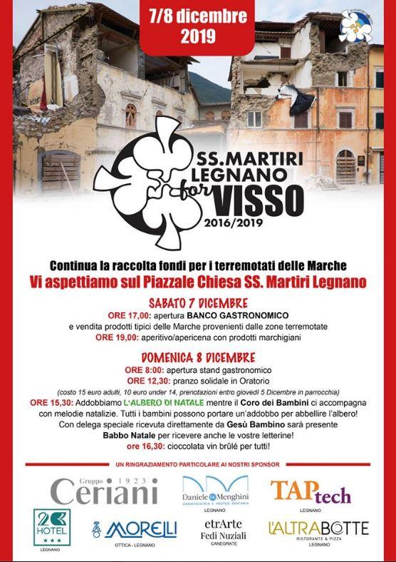 """Legnano: 07-08/12 """"SS.Martiri di legnano for Visso 2016/2019"""""""