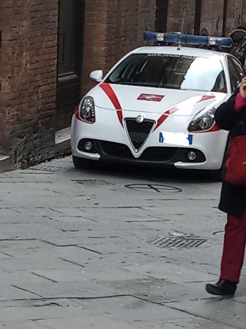 Siena, Coronavirus: 220 i veicoli controllati oggi dalla Poliziamunicipale