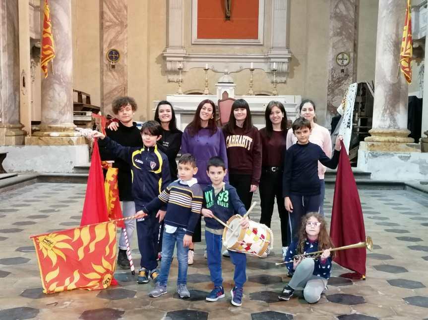 Palio di Castiglion Fiorentino, Rione Porta Romana: Porta Romana al fianco di Solidarietà in buonemani