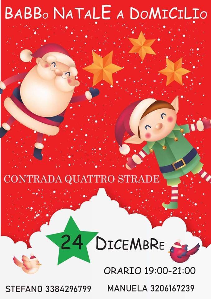 Palio di Bientina, Contrada Quattro Strade: 24/12 Babbo Natale aDomicilio