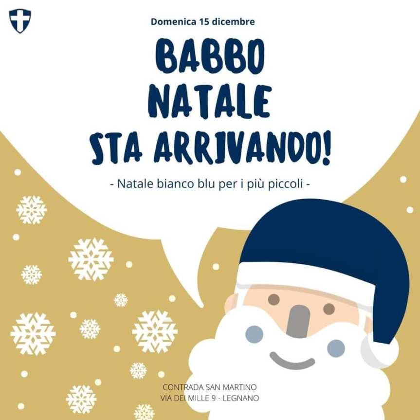 Palio di Legnano, Contrada San Martino: 15/12 Banno Natale staarrivando!