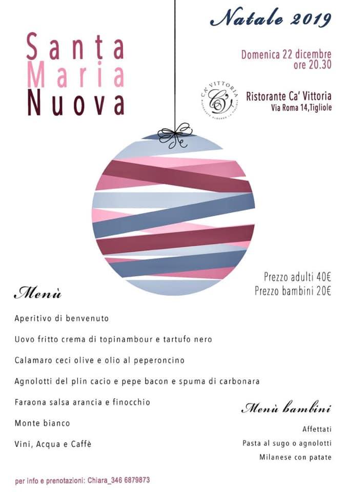 Palio di Asti, Borgo Santa maria Nuova: 22/12 Cena di Natale2019