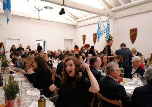 Palio di Legnano, Contrada Sant'Erasmo: Resoconto Cena degli Auguri del14/12