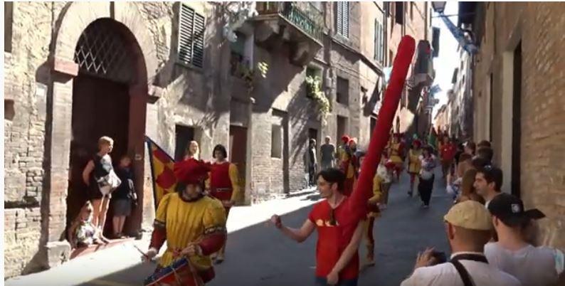 Palio di Siena: 2 lug 2019 via del Casato – Corteo Storico del Palio di Siena di Provenzano2019