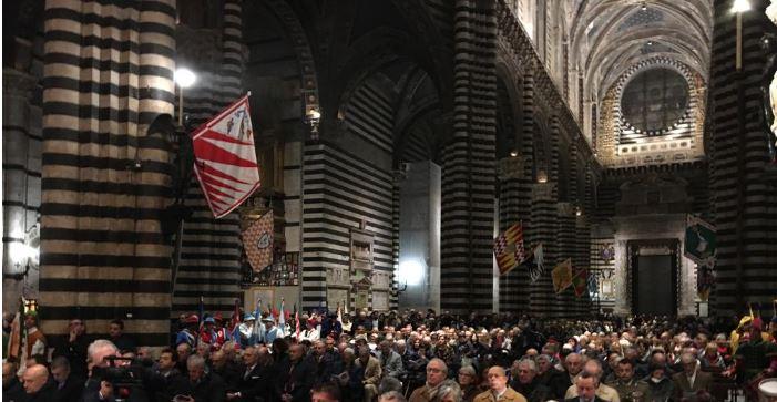 Siena: Sant'Ansano, solo i Priori alla cerimonia inDuomo