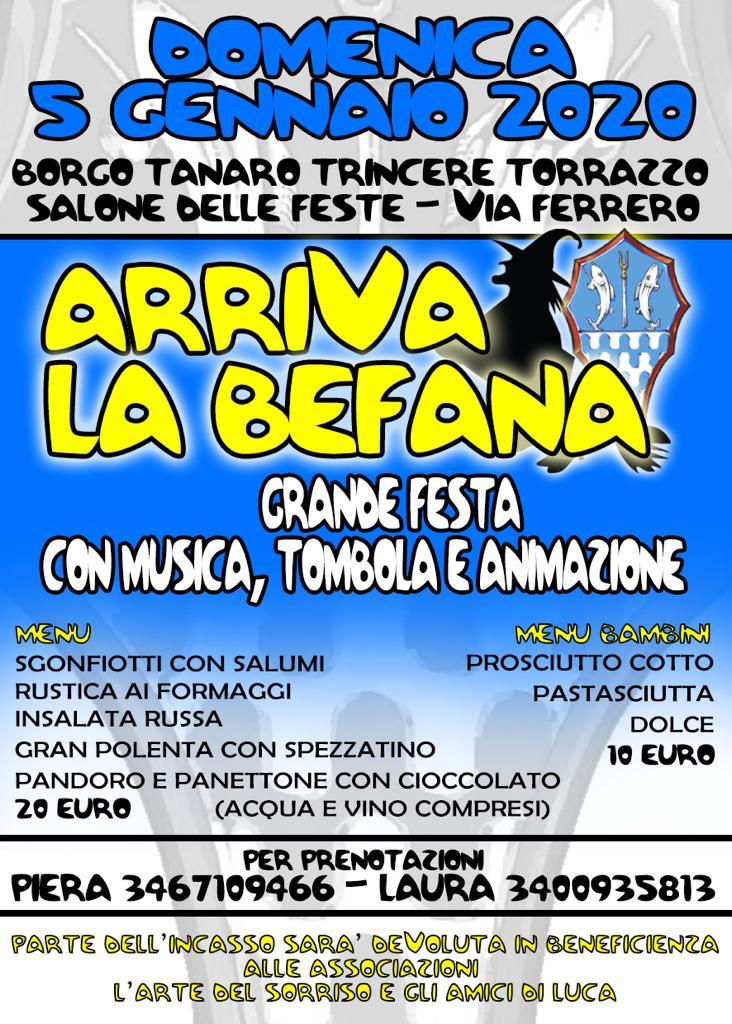 Palio di Asti, Borgo Tanaro-Tricere-Torrazzo: Domani 05/01 Arriva laBefana