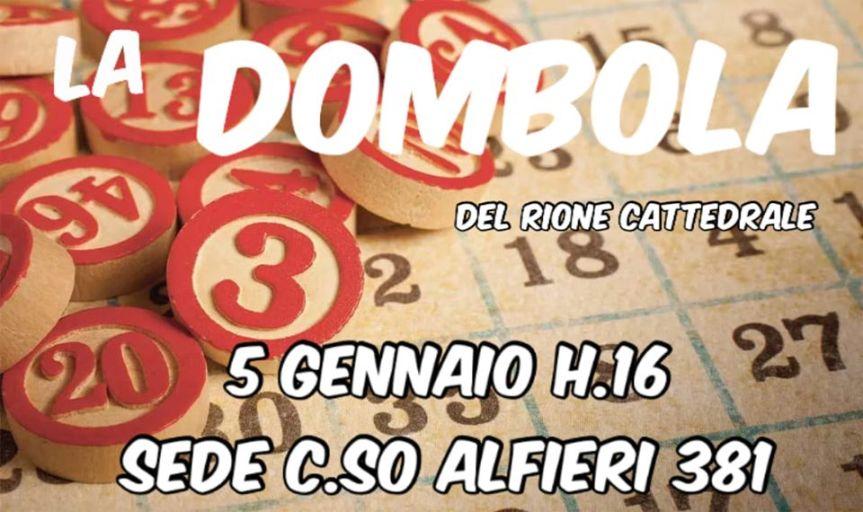 """Palio di Asti, Comitato Palio Rione Cattedrale: 05/01 """"LaDombola"""""""