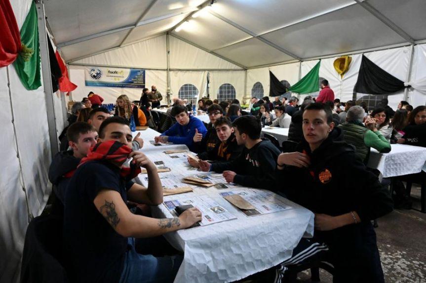 """Palio di Buti: Resoconto fotografico """"Cena itinerante"""" di ieri11/01"""