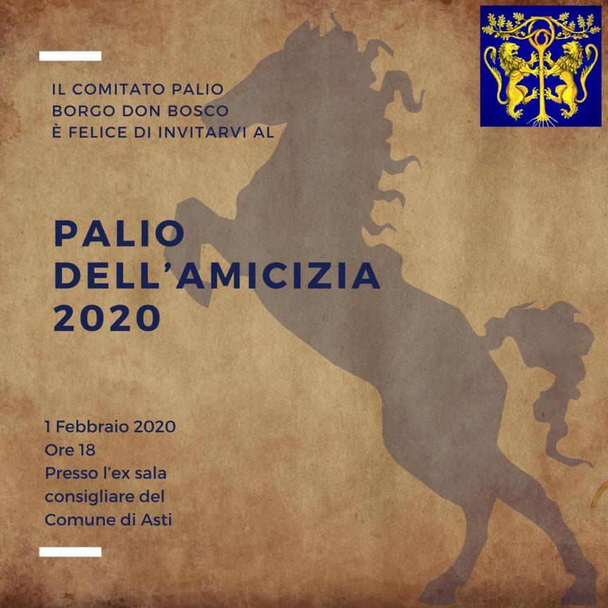 Palio di Asti, Comitato Palio Borgo Don Bosco: 01/02 Palio dell'Amicizia