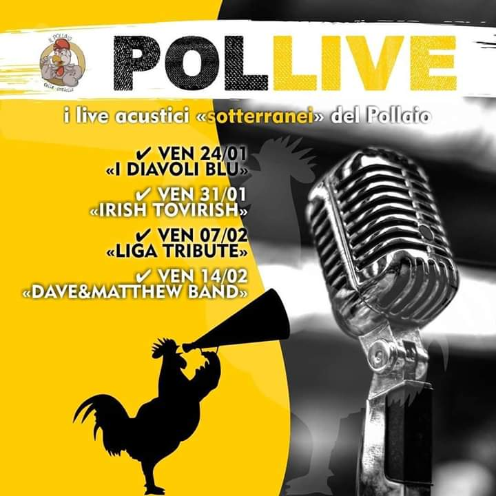 "Sponsor, Pollaio delle Donzelle: Dal 24/01 i Venerdì seratePol-live"""
