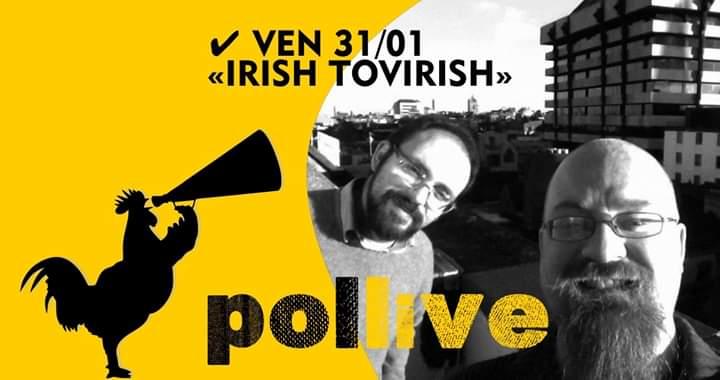 Sponsor, Pollaio delle Donzelle: 31/01 Pollive con IrishTovirish