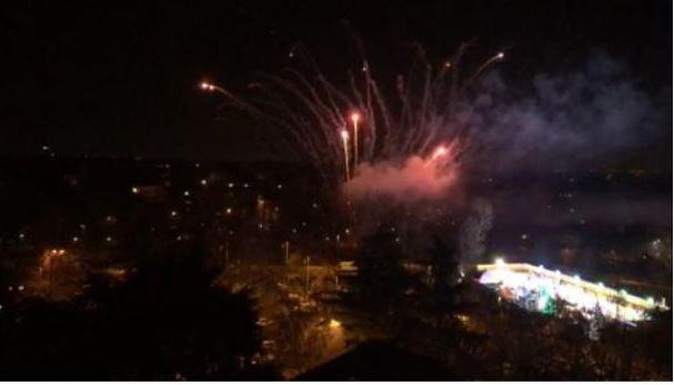Legnano: Fuochi d'artificio per il2020