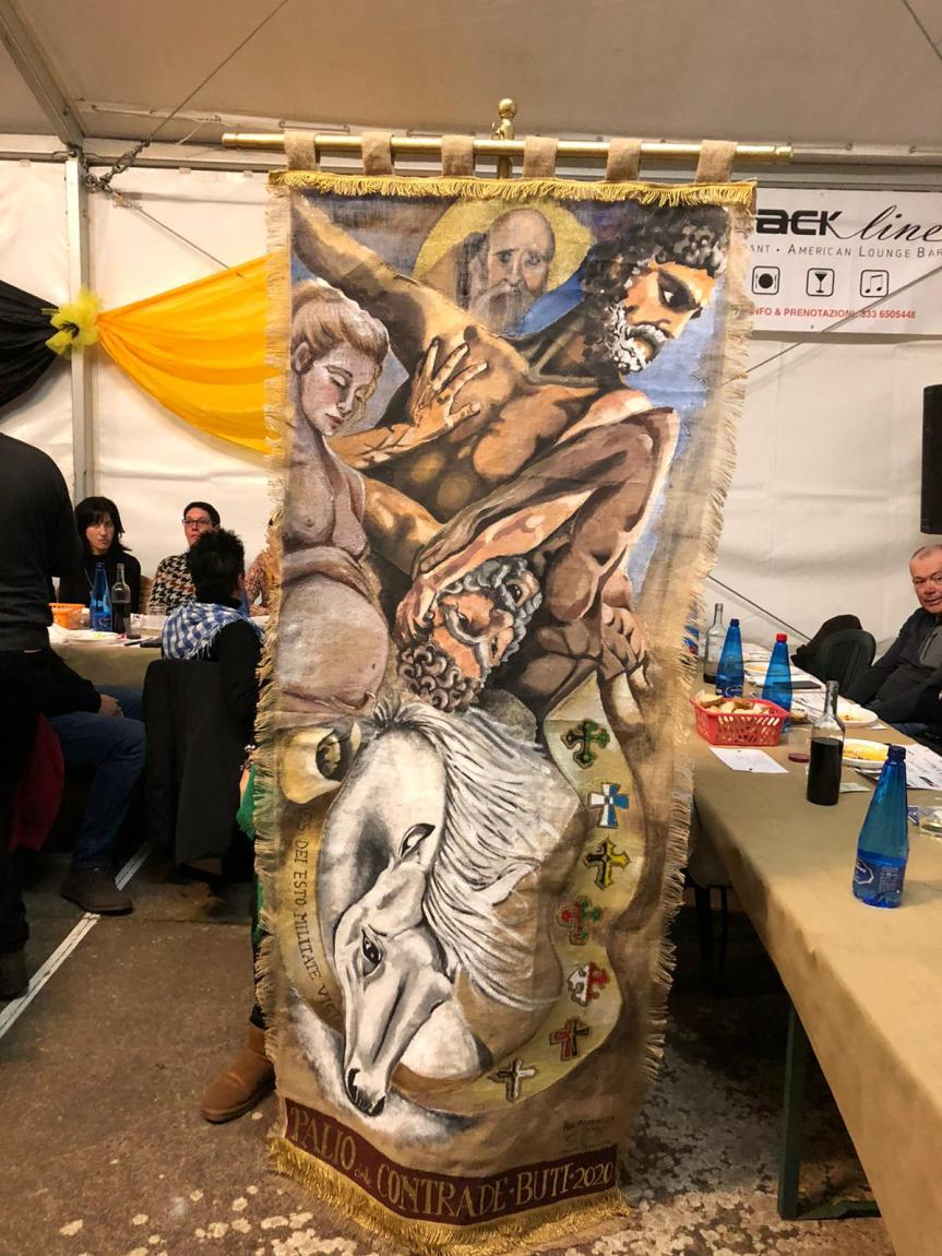 Palio di Buti: Resoconto Palio di Sant'Antonio di oggi19/01
