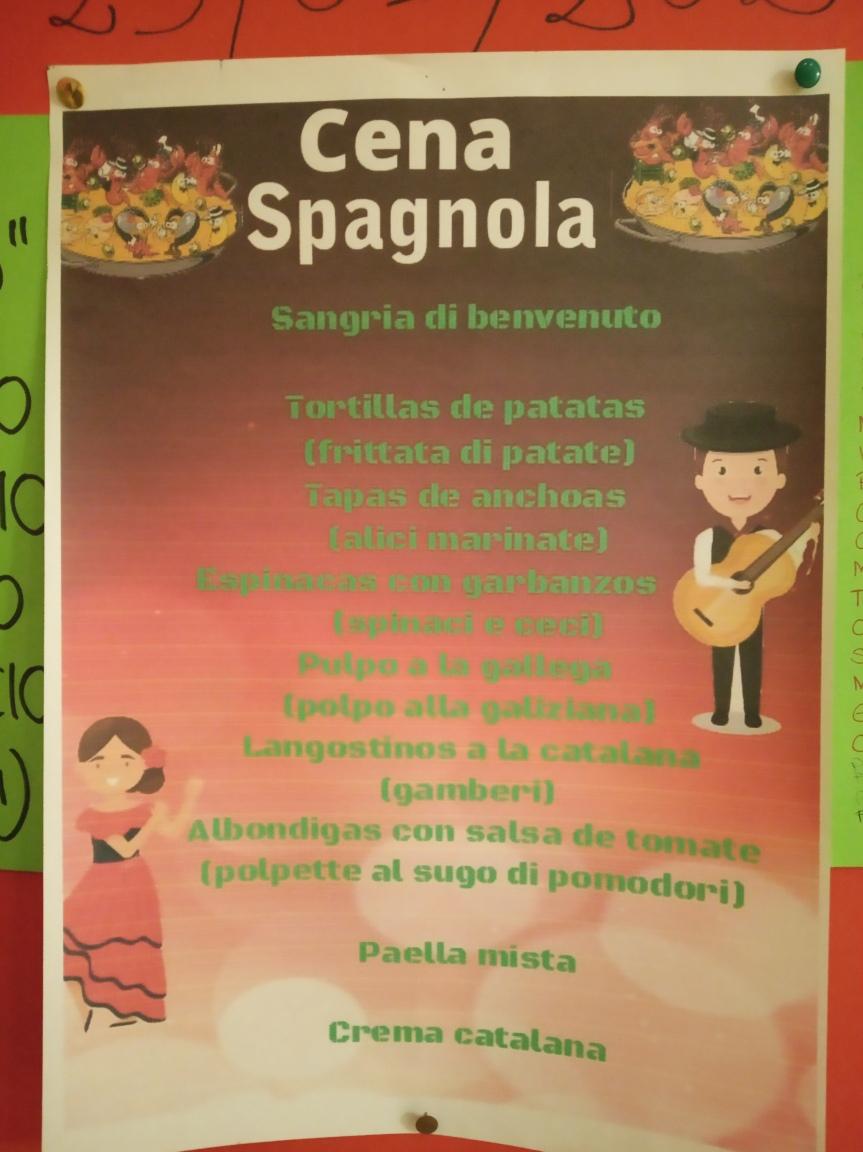 Siena, Società San Marco: 25/01 CenaSpagnola