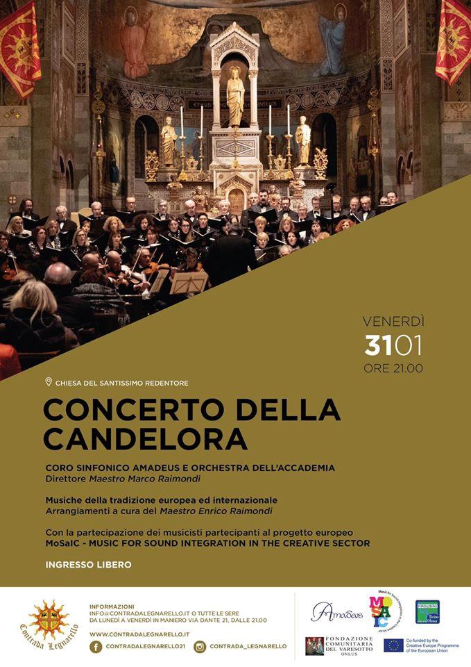 Palio di Legnano, Contrada Legnarello: 31/01 Concerto dellaCandelora