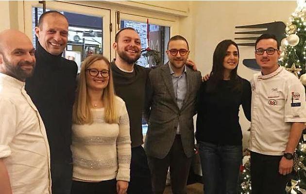 Siena: Ambra Angiolini con il compagno Massimiliano Allegri a pranzo al ristoranteMugolone