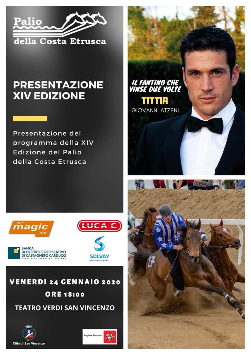 Palio della Costa Etrusca: Venerdì 24/01 Conferenza Stampa dipresentazione