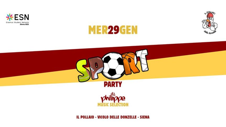 Sponsor, Pollaio delle Donzelle: 29/01 Erasmus Party   with ESN SienaGES
