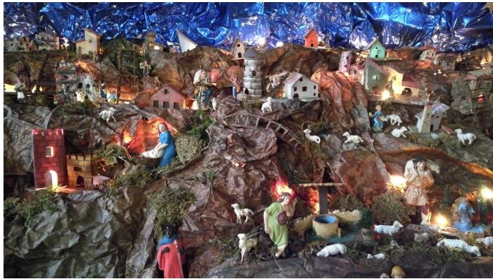 Siena: La bellezza del presepe della chiesa diFontegiusta