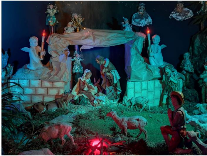 Siena: Il presepe del Santuario di Santa Caterina riflette il vero significato delNatale