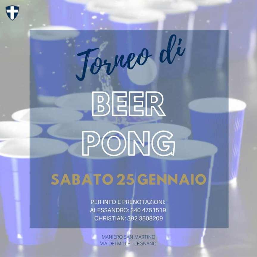 Palio di Legnano, Contrada San Martino: 25/01 Torneo BeerPong