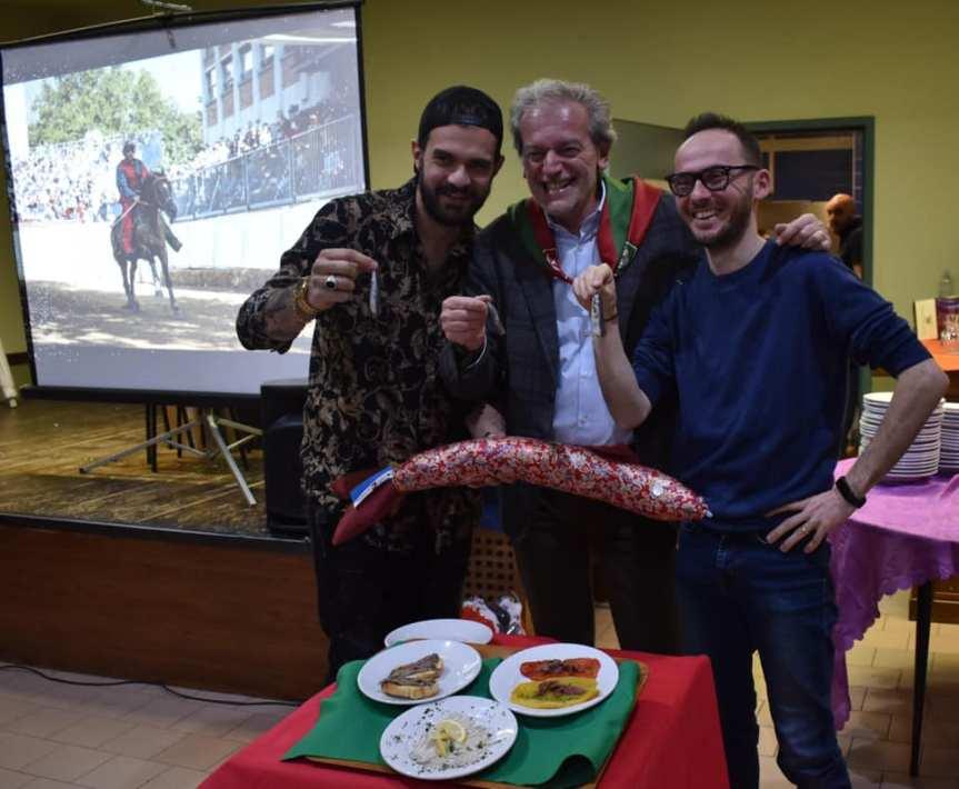 """Palio di Asti, Comitato Palio Borgo San Pietro: Resoconto """"Cena dell'Inchioda"""" del25/01"""