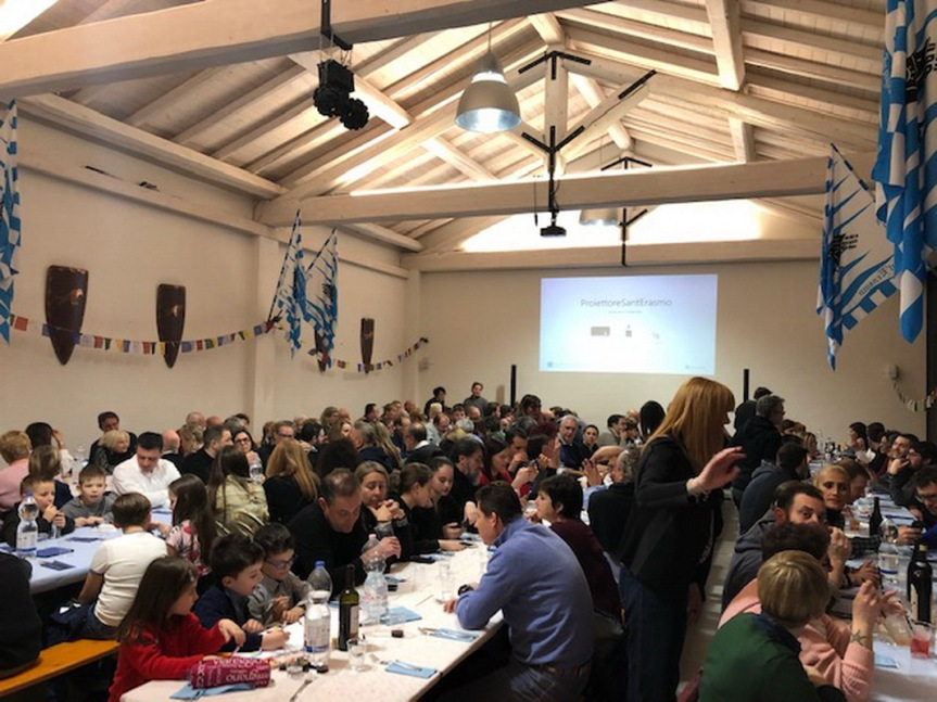 Palio di Legnano, Contrada Sant'Erasmo: Resoconto Cena Valtellinese del25/01