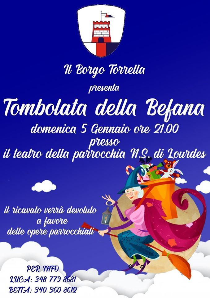 Palio di Asti, Borgo Torretta: 05/01 Tombola dellaBefana