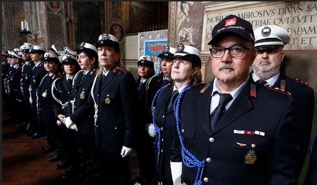 Siena: 171esimo anniversario del Corpo di polizia municipale diSiena