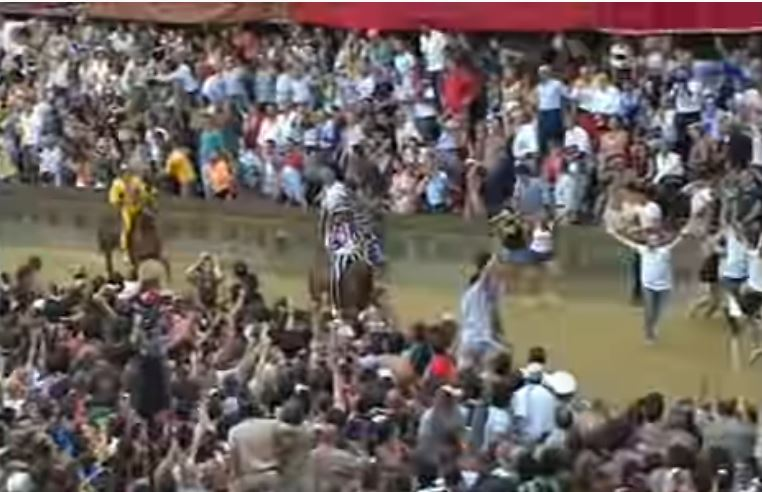 Palio di Siena: L'ultima vittoria dell'Istrice risale al Palio del02/07/2008