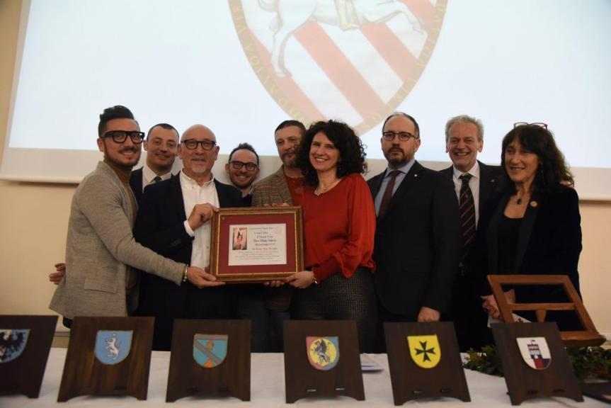 palio di Asti, Rione San pietro: Resoconto Consegna a San Secondo  Premio Mara Sillano Sabatini 2019 del08/02