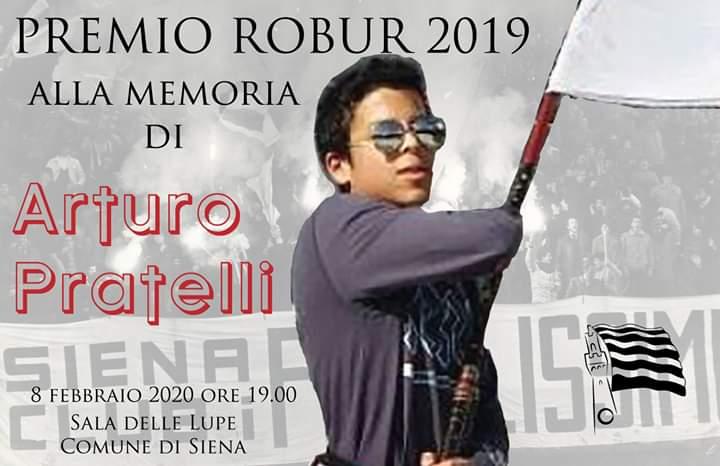 Siena, Siena Club Fedelissimi: Oggi 08/02 ore 19 Consegna del Premio Robur alla memoria di ArturoPratelli