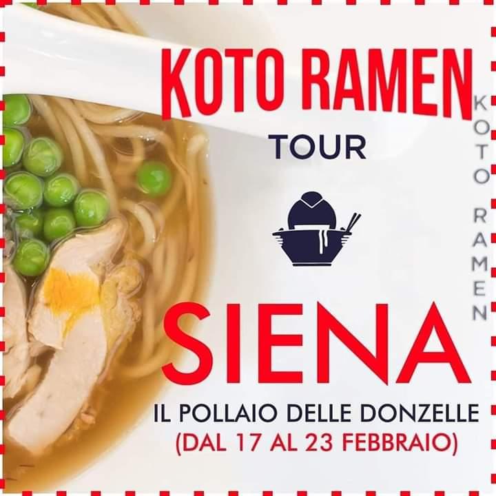 Sponsor Pollaio delle Donzelle: Da oggi 17/02 al 23/02 Koto RamenTour