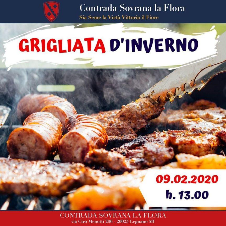 Palio di Legnano, Contrada La Flora: 09/02 Grigliatad'Inverno