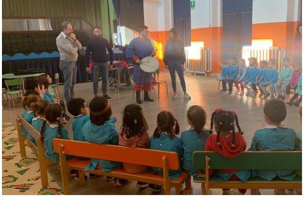 Palio di legnano, Contrada La Flora: Resoconto visita alla Scuola SantiMartiri