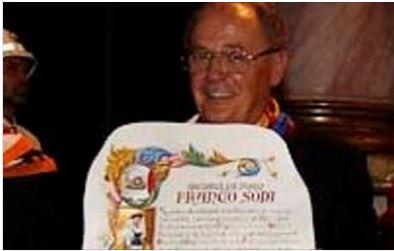 Siena: Il messaggio di cordoglio del Sindaco De Mossi per la scomparsa di FrancoSodi
