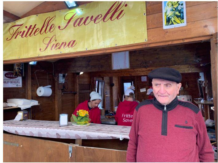 Siena: Le frittelle hanno una storia e la racconta MarioSavelli