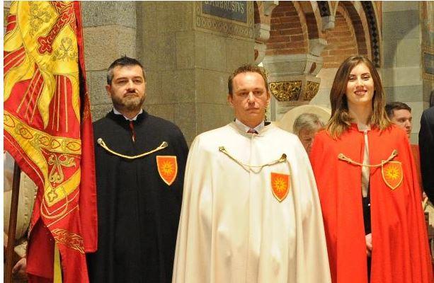 Palio di Legnano:, Contrada Legnarello: Resoconto Investituta Religiosa e Festa del Caru Mi Caru Ti di oggi02/02