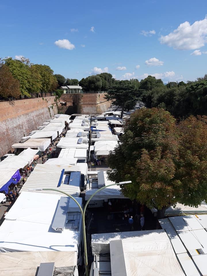 Siena: Corovavirus, sospeso il mercato alla FortezzaMedicea