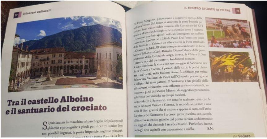 """Palio di Feltre: I quartieri di Feltre e il suo Palio sono finiti sulla pubblicazione de """"La Repubblica"""""""