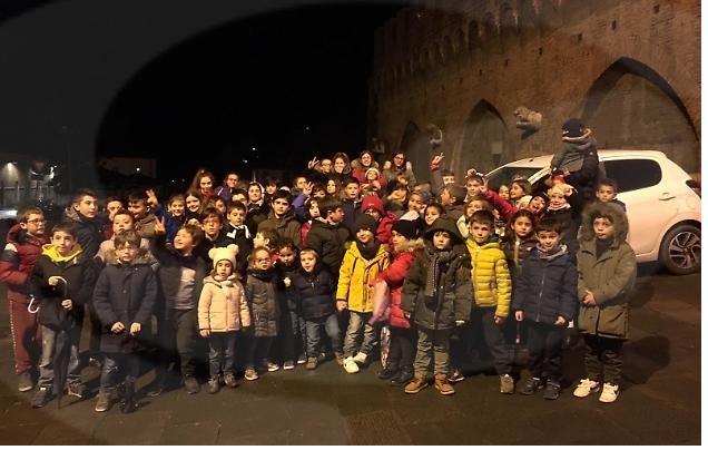 Siena: I piccoli della Torre in visita al museo della contradadell'Oca
